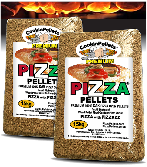 30kg PREMIUM Pellets 100% OAK Pizza Pellets®