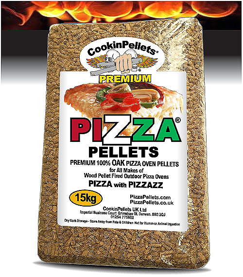 15kg PREMIUM Pellets 100% OAK Pizza Pellets®